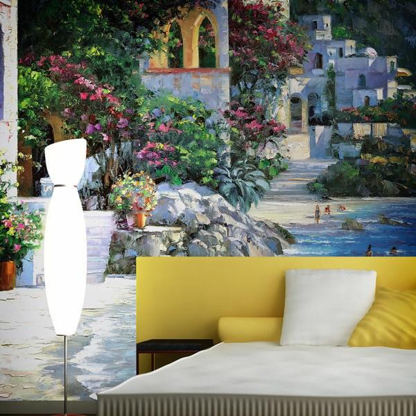 Wall Murals: Capri Del Mar