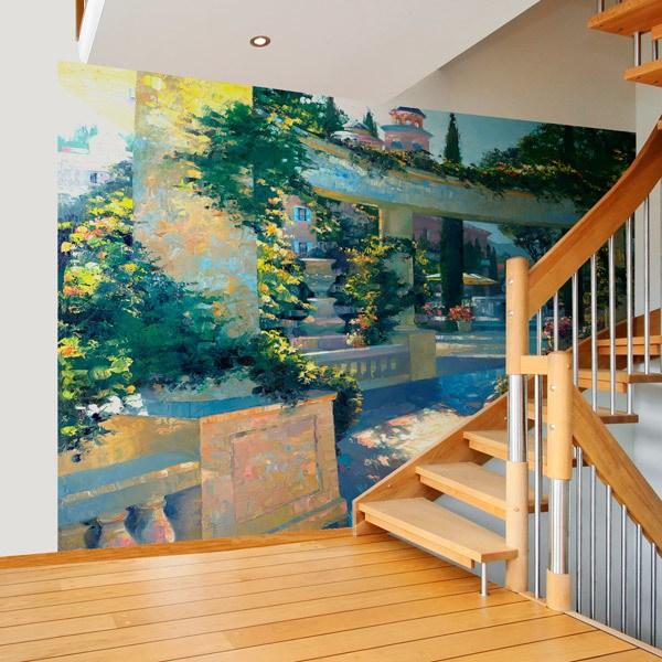 Wall Murals: Bellagio Garden