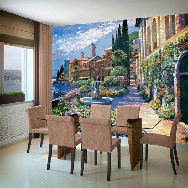 Wall Murals: Splendor of Italy (Howard Behrens)