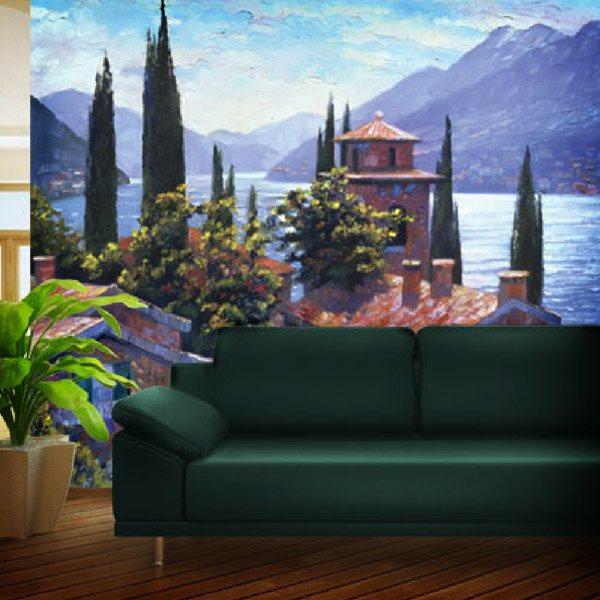 Wall Murals: Lake Lugano (Howard Beherens)