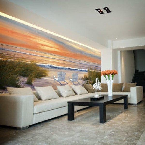 Wall Murals: Paradise Sunset (Diane Romanello)
