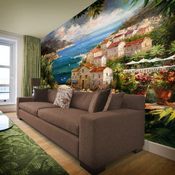 Wall Murals: Harbor Vista (Peter Bell)