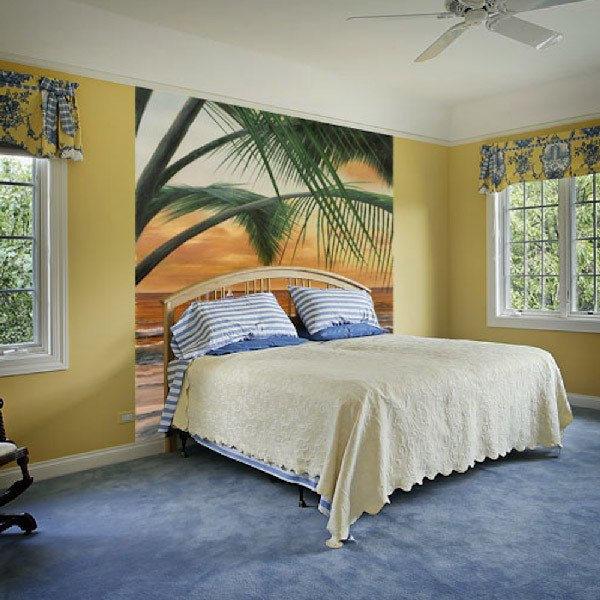 Wall Murals: Paradiso sunset (Diane Romanello)