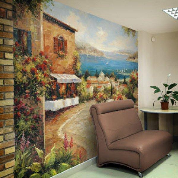 Wall Murals: Marina di Leuca I (Peter Bell)