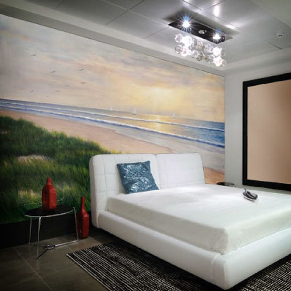 Wall Murals: Seaside (Diane Romanello)