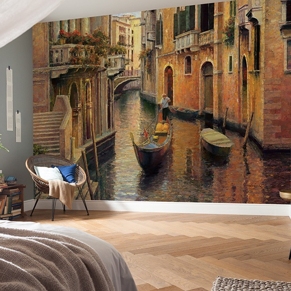 Wall Murals: Venice alley
