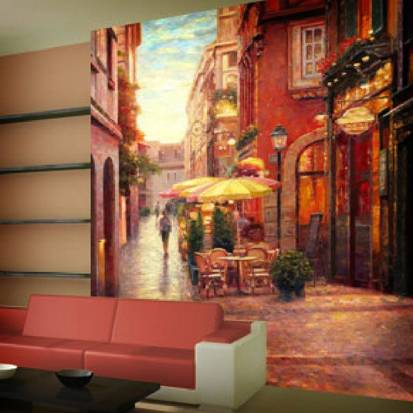 Wall Murals: Evening in Colmar (Haixia Liu)