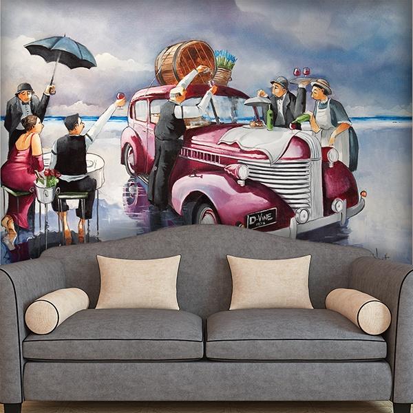 Wall Murals: Butler (Ronald West)
