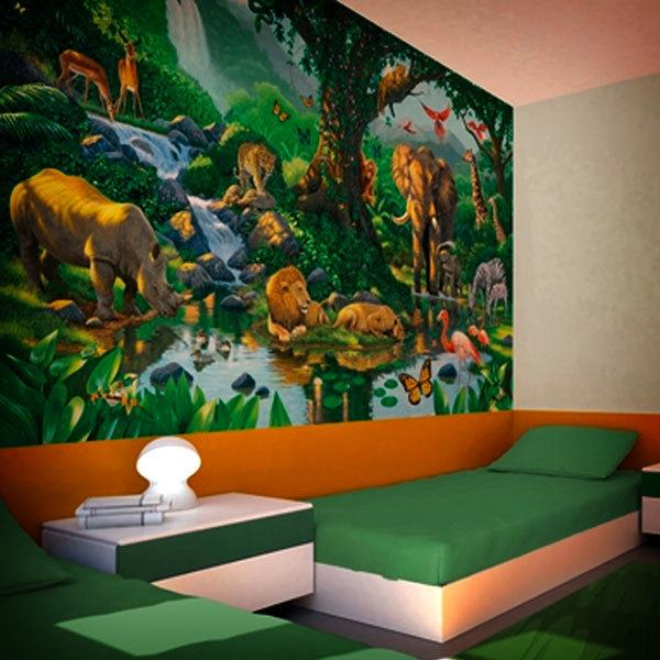 Wall Murals: Jungle