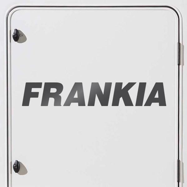 Car and Motorbike Stickers: Frankia 1
