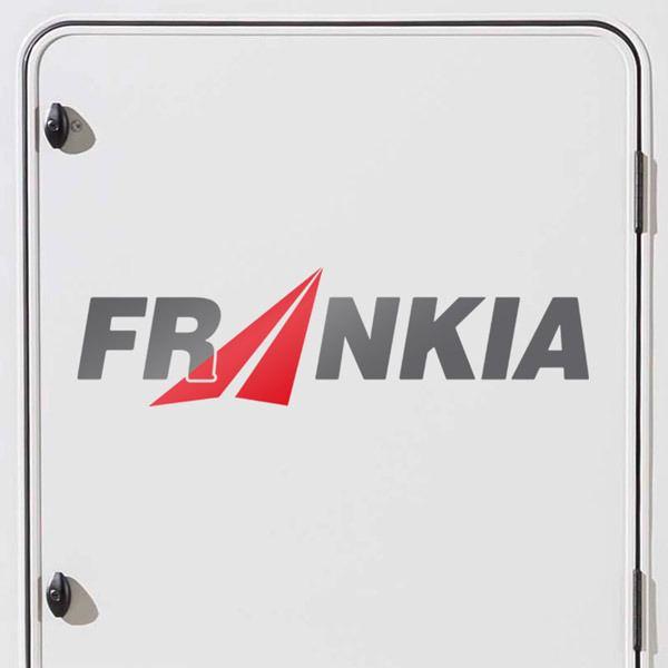 Car and Motorbike Stickers: Frankia 2