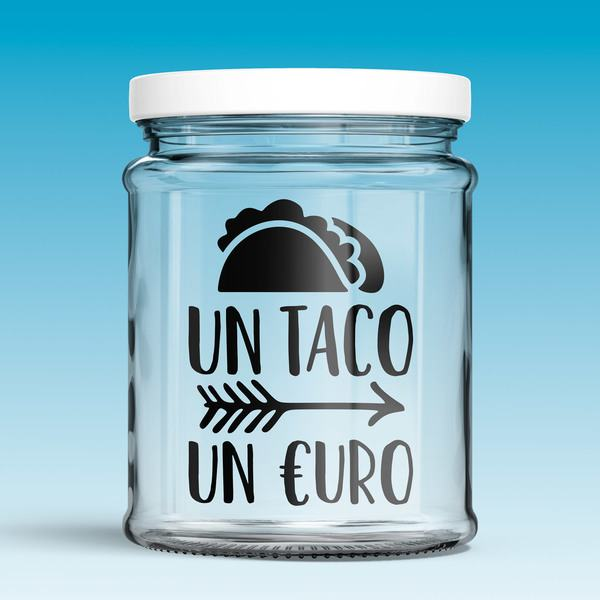 Wall Stickers: Un Taco un €uro
