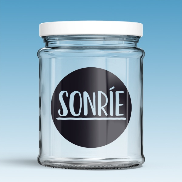 Wall Stickers: Sonríe