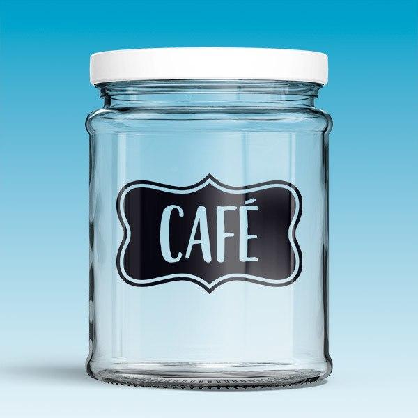 Wall Stickers: Café