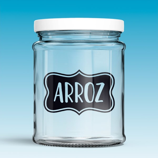 Wall Stickers: Arroz