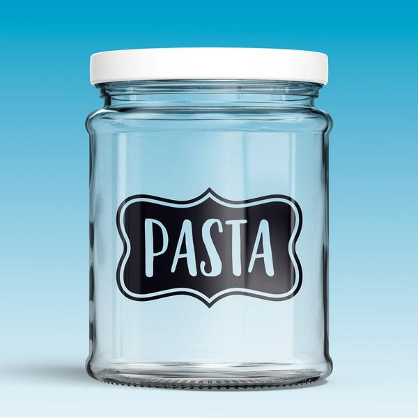 Wall Stickers: Pasta