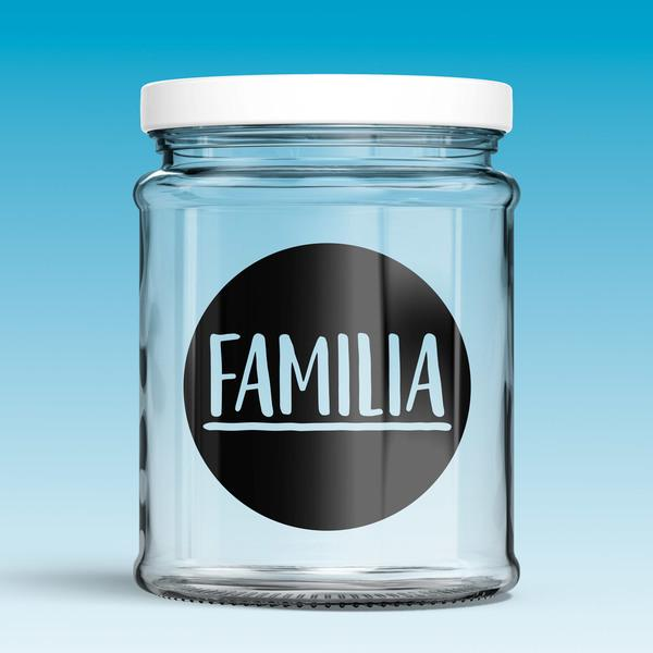 Wall Stickers: Familia
