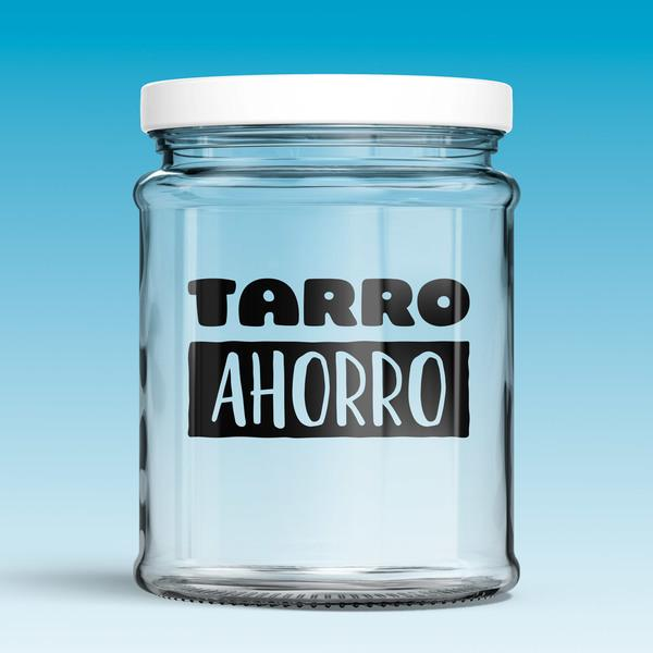 Wall Stickers: Tarro Ahorro