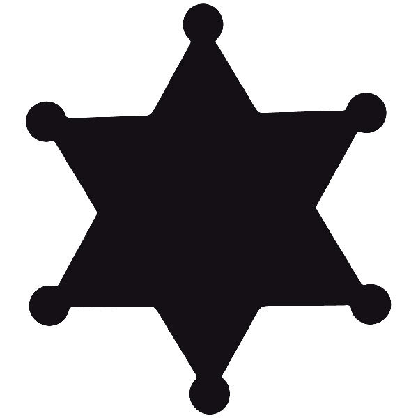 Car and Motorbike Stickers: Far west 01