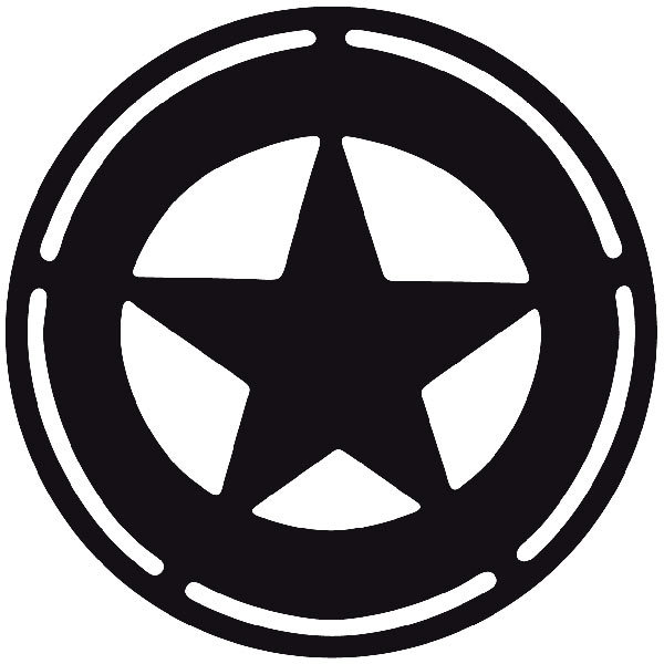 Car and Motorbike Stickers: Far west 02