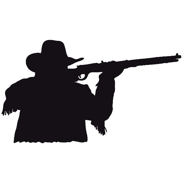 Car and Motorbike Stickers: Far west 03