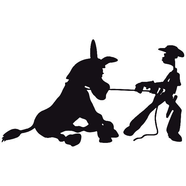 Car and Motorbike Stickers: Far west 04
