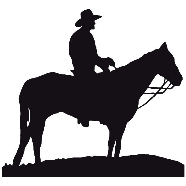 Car and Motorbike Stickers: Far west 06