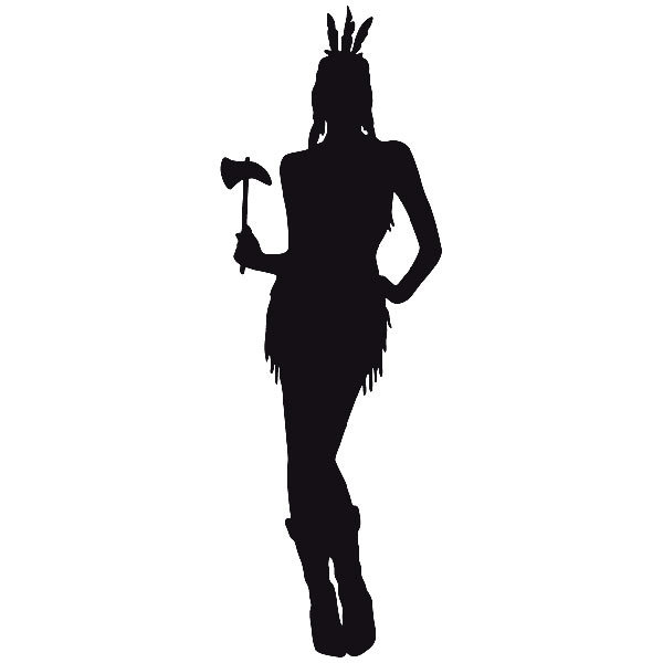 Car and Motorbike Stickers: Far west 07