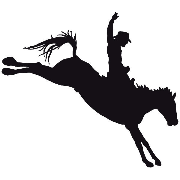 Car and Motorbike Stickers: Far west 08