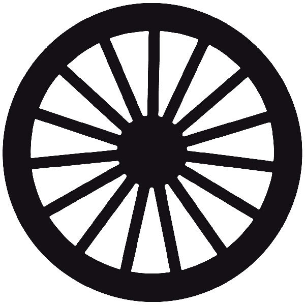 Car and Motorbike Stickers: Far west 10