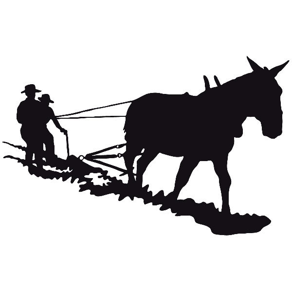 Car and Motorbike Stickers: Far west 11