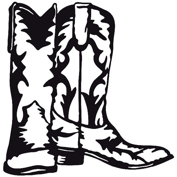 Car and Motorbike Stickers: Far west 14