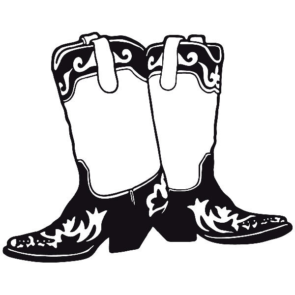 Car and Motorbike Stickers: Far west 15