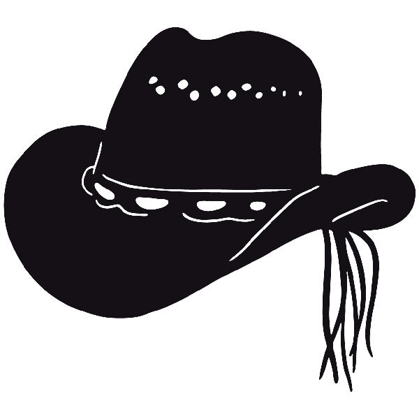 Car and Motorbike Stickers: Far west 18