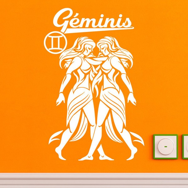 Wall Stickers: zodiaco 13 (Geminis)