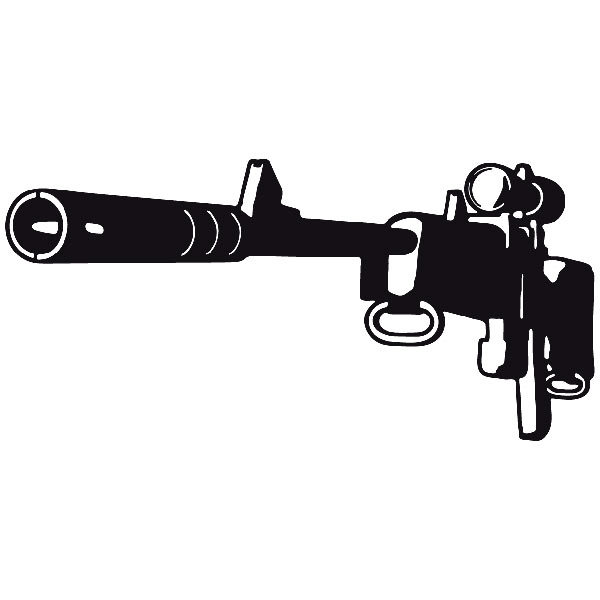 Car and Motorbike Stickers: Weapon 6