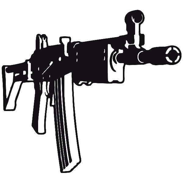 Car and Motorbike Stickers: Weapon 8