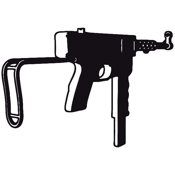 Car and Motorbike Stickers: Weapon 10
