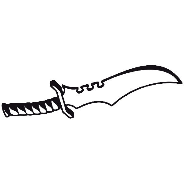 Car and Motorbike Stickers: Weapon 13