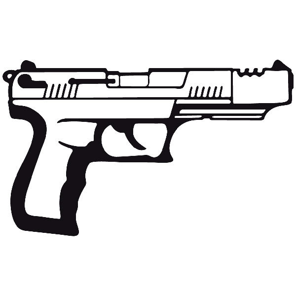 Car and Motorbike Stickers: Weapon 17