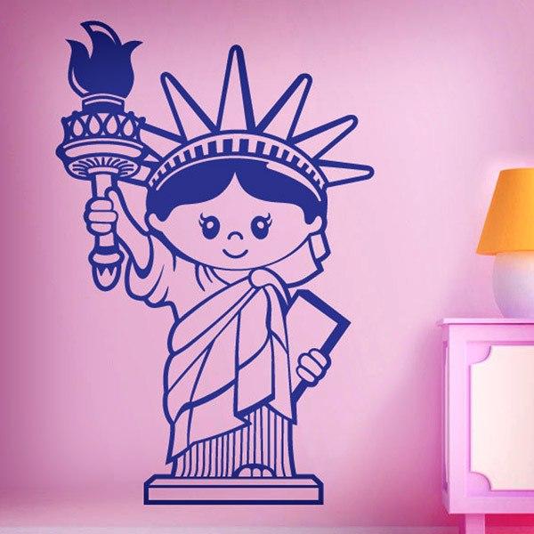 Wall Stickers: Liberty Statue (Kids)