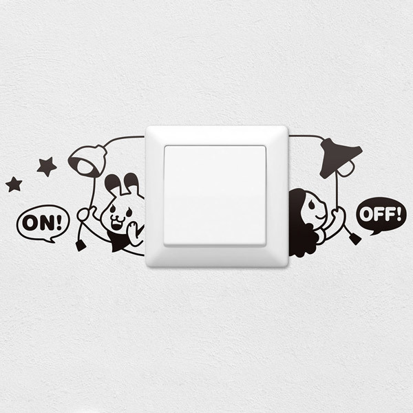 Wall Stickers: On Off