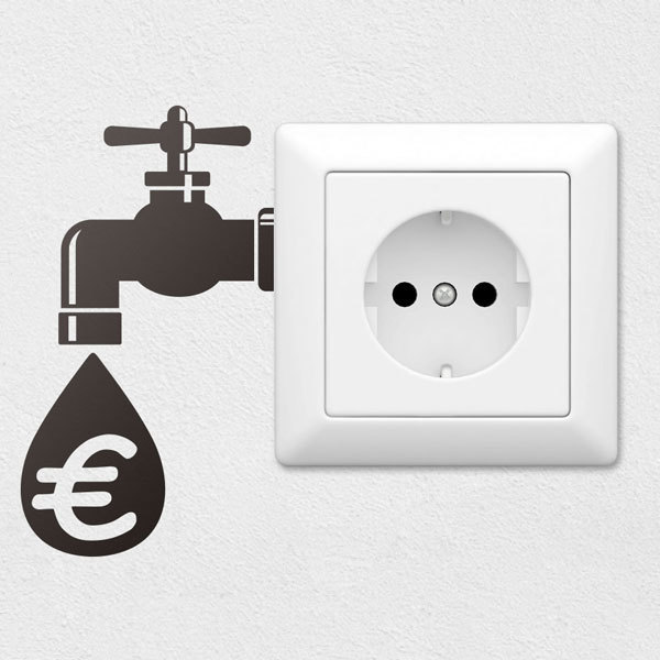 Wall Stickers: Saving faucet