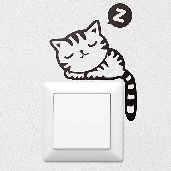 Wall Stickers: Kitten