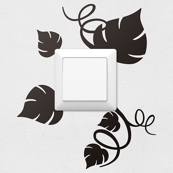 Wall Stickers: Vine leaves