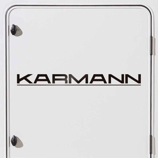 Car and Motorbike Stickers: Karmann 1