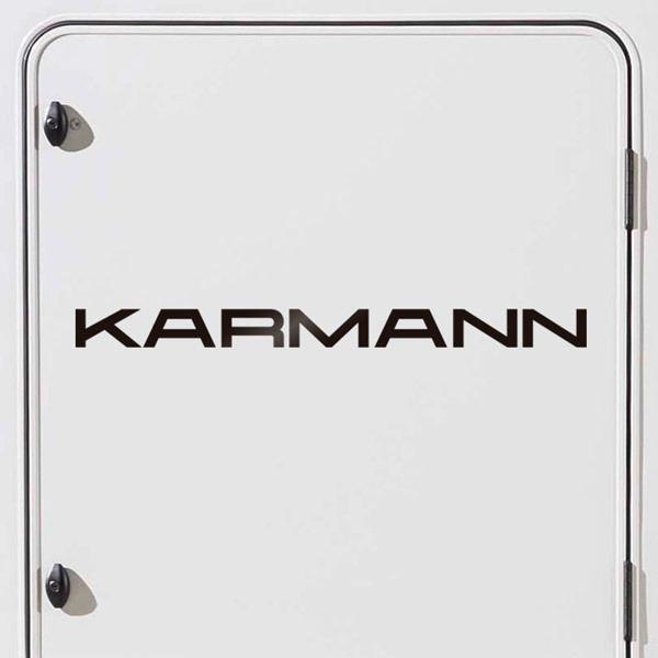 Car and Motorbike Stickers: Karmann 2