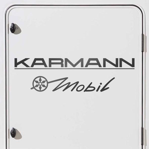 Car and Motorbike Stickers: Karmann 3 Mobil
