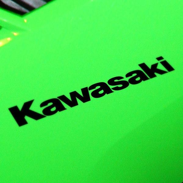 Car and Motorbike Stickers: Kawasaki