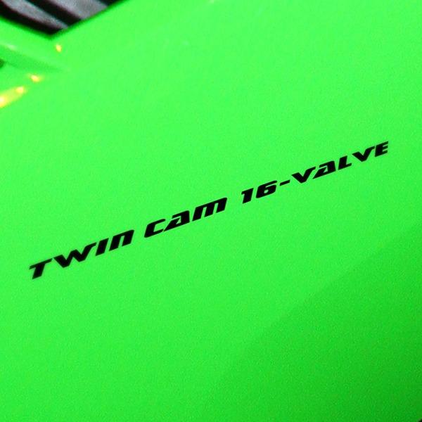Car and Motorbike Stickers: ZZR, Twim cam 16 Valve